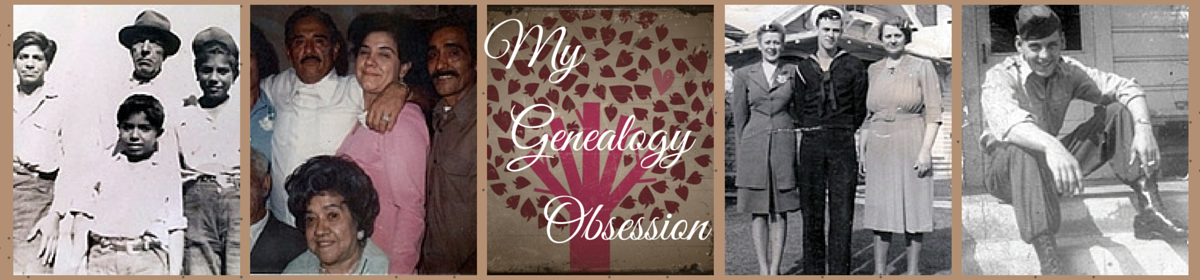My Genealogy Obsession (c) 2009-2016