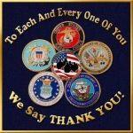 Military Thank You, Military Monday